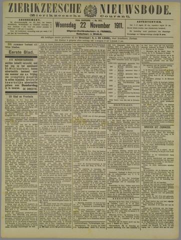 Zierikzeesche Nieuwsbode 1911-11-22