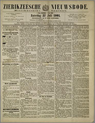 Zierikzeesche Nieuwsbode 1901-07-27
