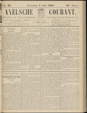 Axelsche Courant 1908-07-01