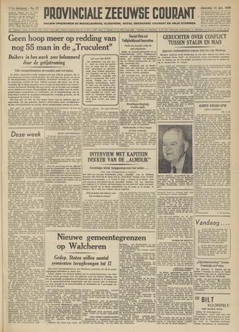 Provinciale Zeeuwse Courant 1950-01-14