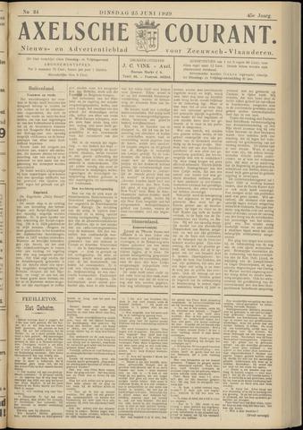 Axelsche Courant 1929-06-25
