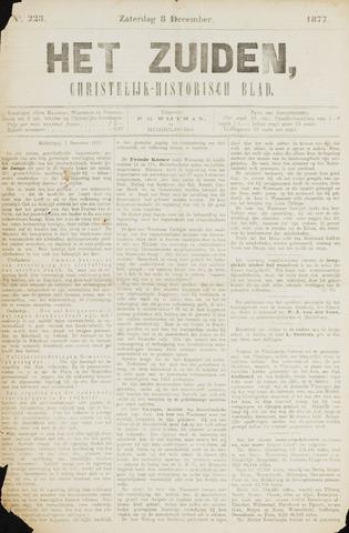 Het Zuiden, Christelijk-historisch blad 1877-12-08