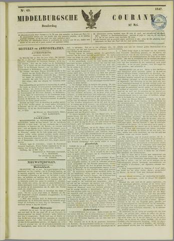 Middelburgsche Courant 1847-05-27