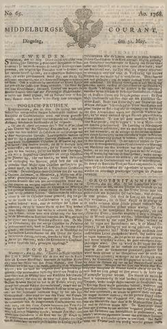Middelburgsche Courant 1768-05-31