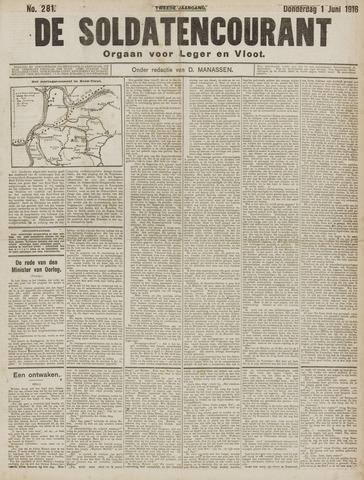 De Soldatencourant. Orgaan voor Leger en Vloot 1916-06-02