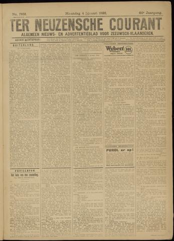 Ter Neuzensche Courant. Algemeen Nieuws- en Advertentieblad voor Zeeuwsch-Vlaanderen / Neuzensche Courant ... (idem) / (Algemeen) nieuws en advertentieblad voor Zeeuwsch-Vlaanderen 1926-01-04