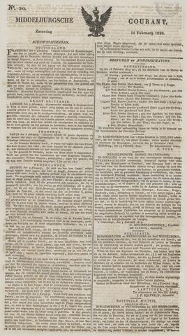 Middelburgsche Courant 1829-02-14