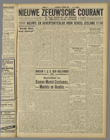 Nieuwe Zeeuwsche Courant 1925-10-03