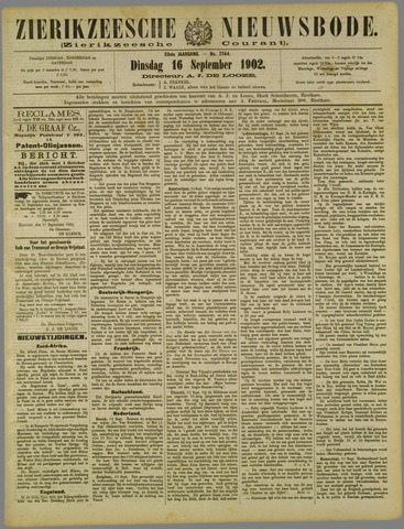 Zierikzeesche Nieuwsbode 1902-09-16
