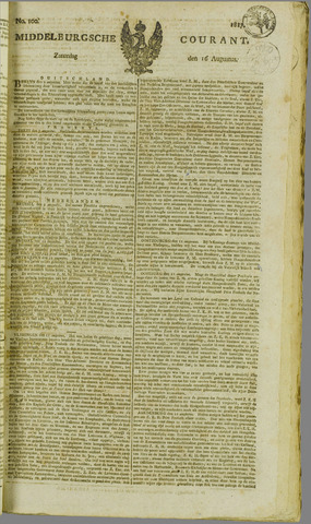 Middelburgsche Courant 1817-08-16