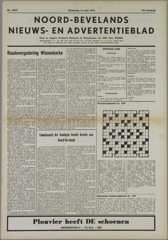Noord-Bevelands Nieuws- en advertentieblad 1973-04-12
