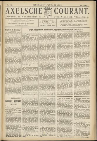Axelsche Courant 1939-01-17