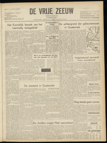 de Vrije Zeeuw 1954-06-22