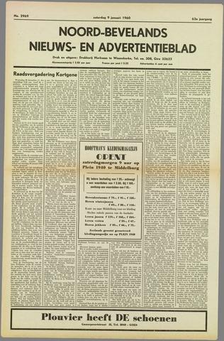 Noord-Bevelands Nieuws- en advertentieblad 1960-01-09