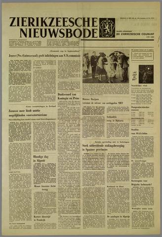 Zierikzeesche Nieuwsbode 1962-05-11