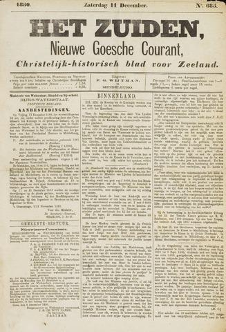 Het Zuiden, Christelijk-historisch blad 1880-12-11