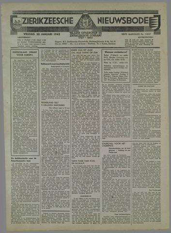 Zierikzeesche Nieuwsbode 1942-01-30