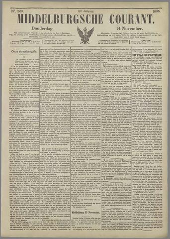 Middelburgsche Courant 1895-11-14