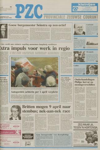 Provinciale Zeeuwse Courant 1992-03-12