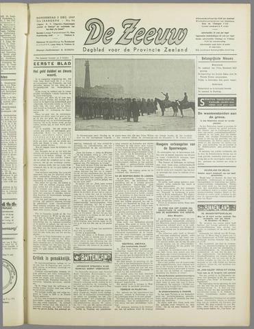 De Zeeuw. Christelijk-historisch nieuwsblad voor Zeeland 1937-12-02