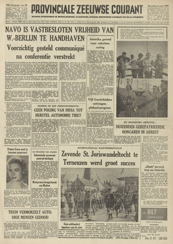 Provinciale Zeeuwse Courant 1959-04-06