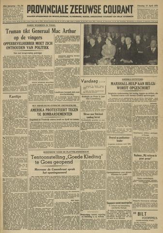 Provinciale Zeeuwse Courant 1951-04-10