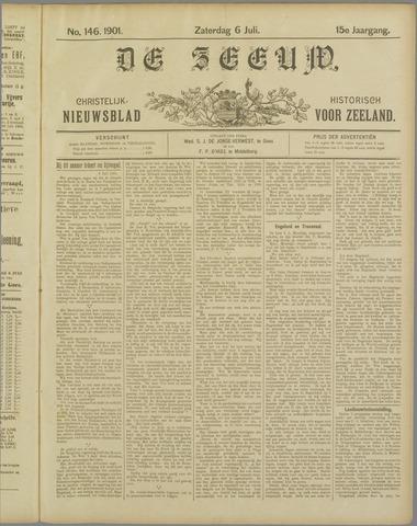 De Zeeuw. Christelijk-historisch nieuwsblad voor Zeeland 1901-07-06