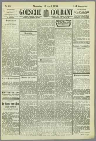Goessche Courant 1929-04-10