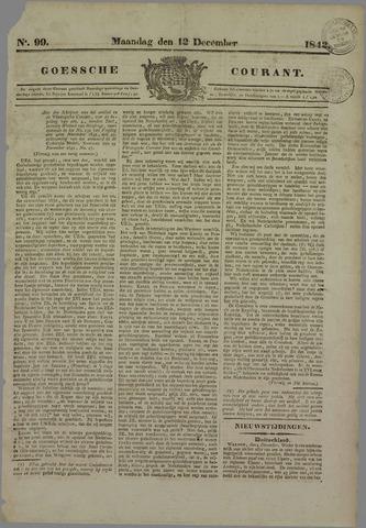 Goessche Courant 1842-12-12