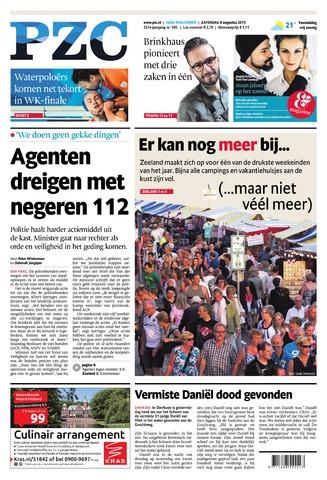 Provinciale Zeeuwse Courant 2015-08-08
