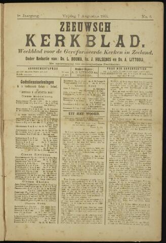 Zeeuwsche kerkbode, weekblad gewijd aan de belangen der gereformeerde kerken/ Zeeuwsch kerkblad 1903-08-07