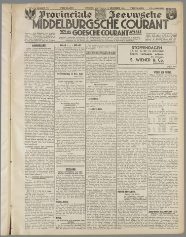 Middelburgsche Courant 1934-12-11