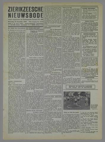 Zierikzeesche Nieuwsbode 1942-12-23