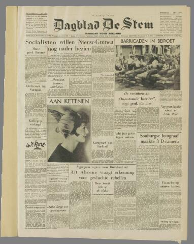 de Stem 1958-10-01