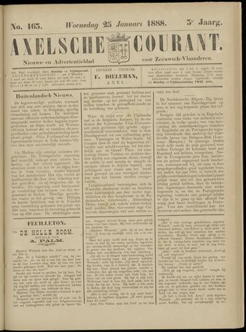 Axelsche Courant 1888-01-25