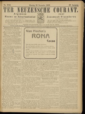Ter Neuzensche Courant. Algemeen Nieuws- en Advertentieblad voor Zeeuwsch-Vlaanderen / Neuzensche Courant ... (idem) / (Algemeen) nieuws en advertentieblad voor Zeeuwsch-Vlaanderen 1912-11-26