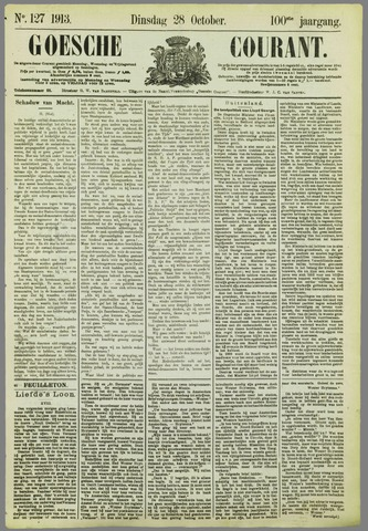 Goessche Courant 1913-10-28