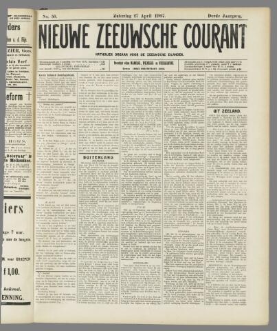 Nieuwe Zeeuwsche Courant 1907-04-27