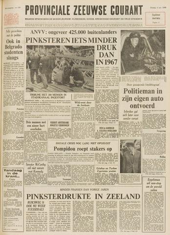 Provinciale Zeeuwse Courant 1968-06-04