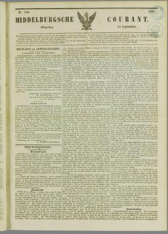 Middelburgsche Courant 1847-09-14