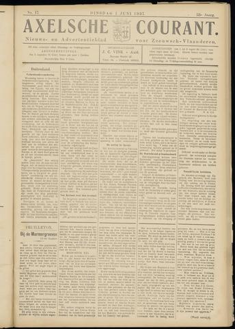 Axelsche Courant 1937-06-01