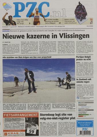 Provinciale Zeeuwse Courant 2011-08-31