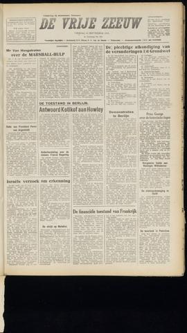 de Vrije Zeeuw 1948-09-10