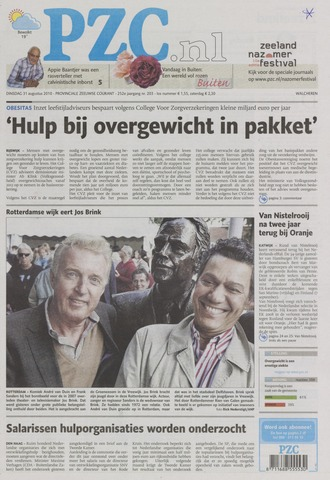 Provinciale Zeeuwse Courant 2010-08-31