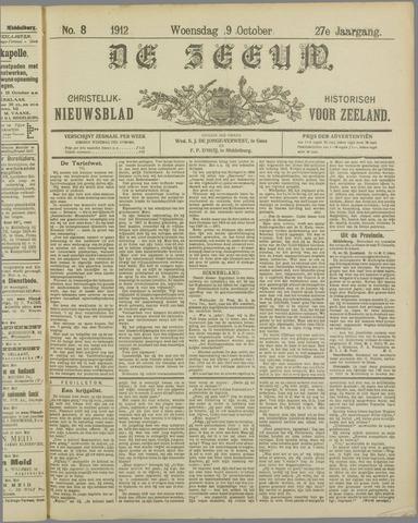 De Zeeuw. Christelijk-historisch nieuwsblad voor Zeeland 1912-10-09