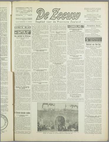 De Zeeuw. Christelijk-historisch nieuwsblad voor Zeeland 1937-12-16