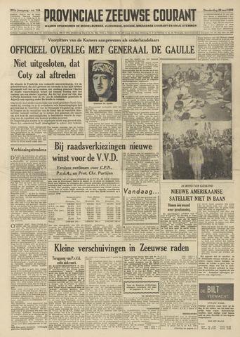 Provinciale Zeeuwse Courant 1958-05-29