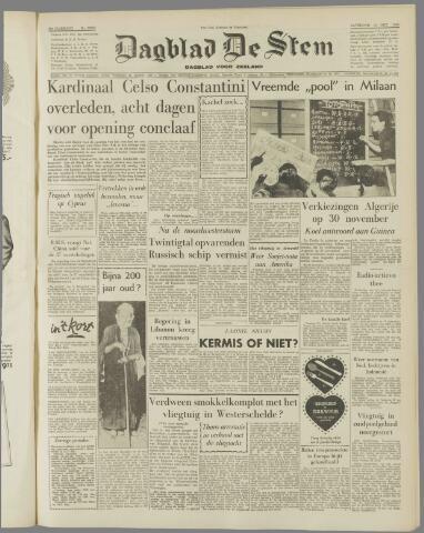 de Stem 1958-10-18
