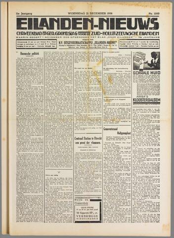 Eilanden-nieuws. Christelijk streekblad op gereformeerde grondslag 1938-12-21
