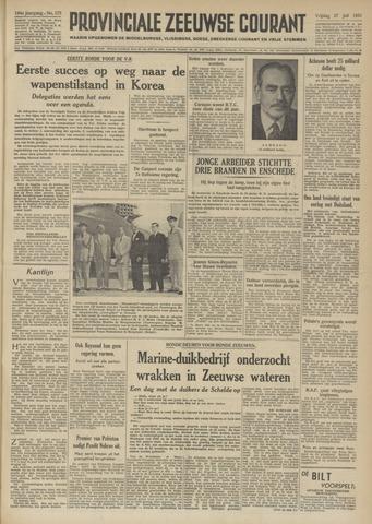 Provinciale Zeeuwse Courant 1951-07-27